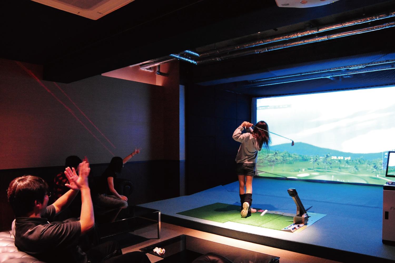 シミュレーションゴルフ宴会プラン(個室)