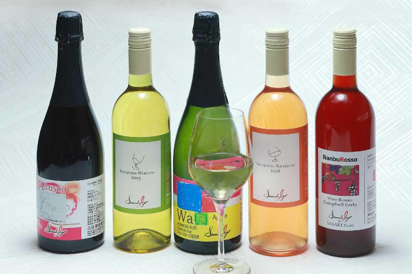八戸産の自家製ワインと300種以上のイタリアワインでマリアージュ