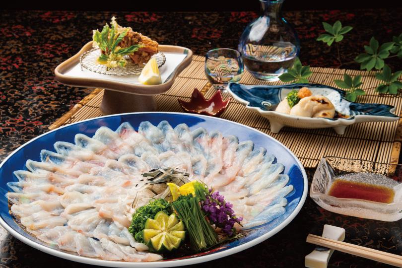 ふぐ料理と季節の会席「ふぐコース」11,000円より