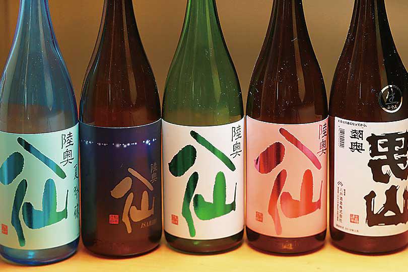 八戸の限定地酒(八仙等)一升サイズ1本5,000円~