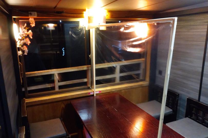 海が見える国内初安全個室(4人部屋)