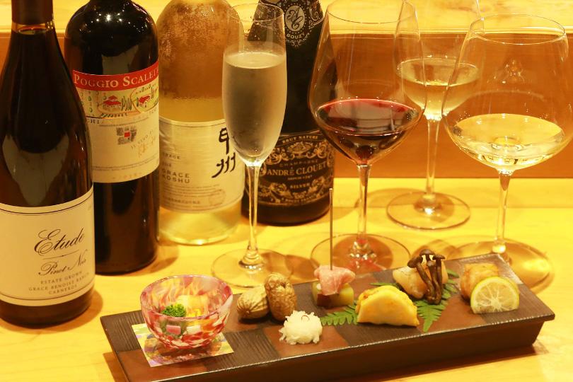 お料理に合わせたワインをソムリエがご案内いたします