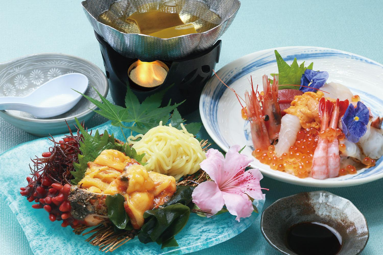 海鮮丼・ホヤしゃぶセット